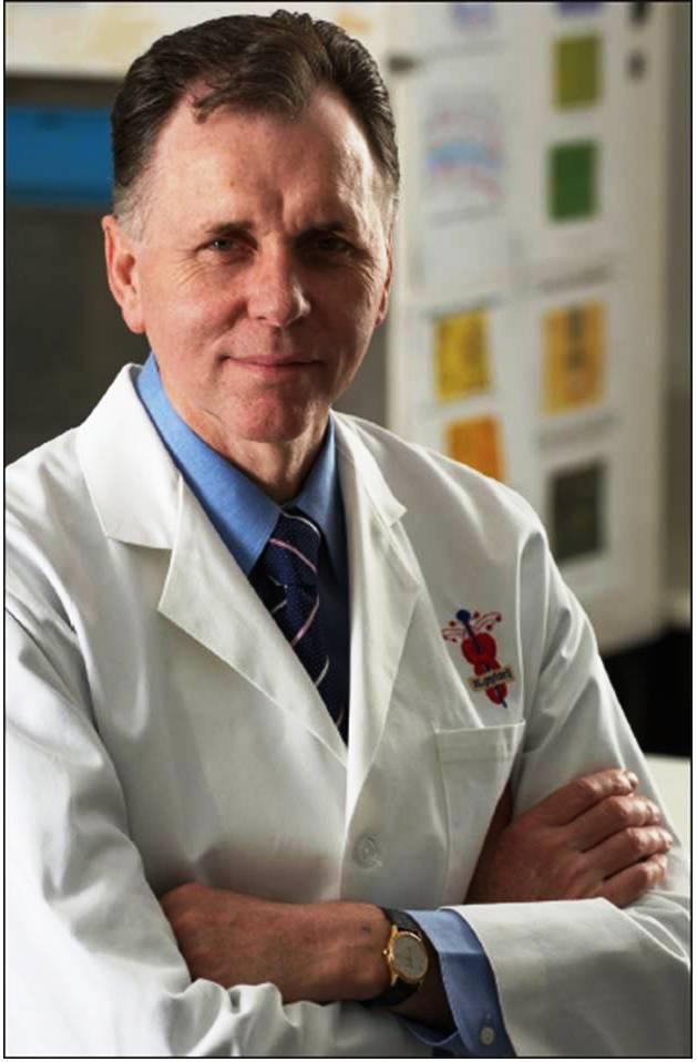 Dr. Barry Marshall, Nobel laureado, University of Western Australia.