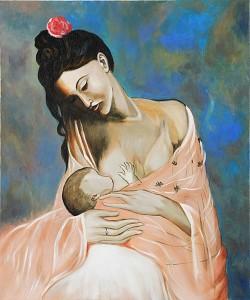 maternidad pablo picasso