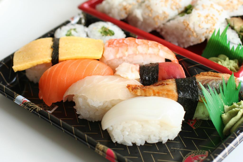 Sushi delicioso (fotografía de http://www.flickr.com/photos/gpeters/)